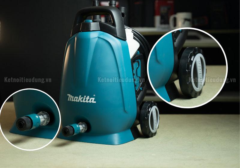 Top 7 thương hiệu máy rửa xe máy cao cấp nhất hiện nay - máy xịt áp lực cao Makita HW102 chính hãng